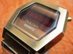 BULOVA QUARTZ HEXAGONAL LED 1976