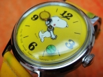 SNOOPY TENNIS MYSTERY DIAL TIMEX 1958