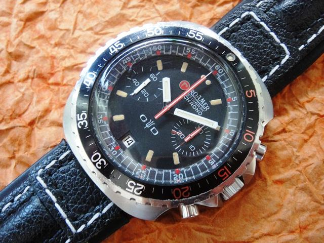 Roamer Stingray Chronograph 1970 S