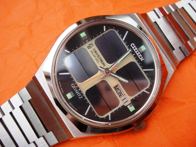 Citizen Crystron 8620 Solar Quartz 1976